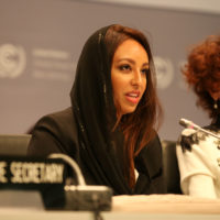 APA Co-Chair Sarah Baashan, Saudi Arabia. Photo by IISD/ENB | Kiara Worth