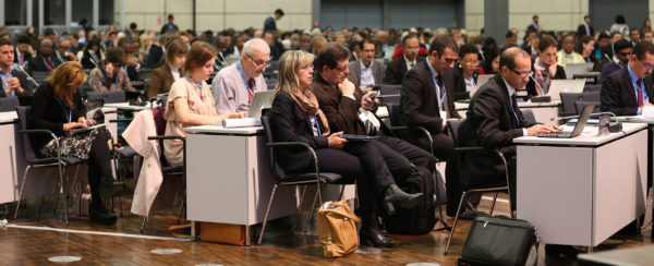 Meeting of the ADP - Ad Hoc Working Group on the Durban Platform for Enhanced Action in Bonn, October 2015. Photo: IISD/ENB | ENB