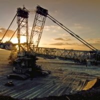 Bagger digging coal. Photo: Von Spyridon Natsikos, CC BY 2.0 de