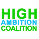 The High Ambition Coalition logotype. Source: Miguel Arias Cañete on twitter (@MAC_europa)